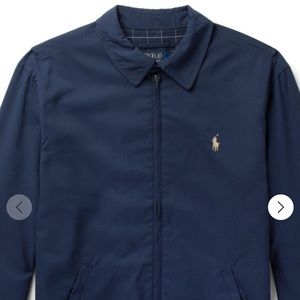 Polo Windbreaker Navy